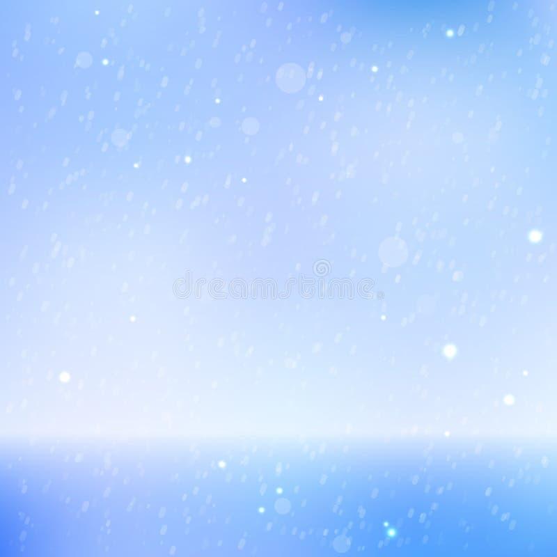härlig havssky för abstrakt bakgrund royaltyfri illustrationer