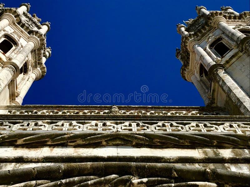 Härlig historisk byggnad i Lissabon royaltyfri foto