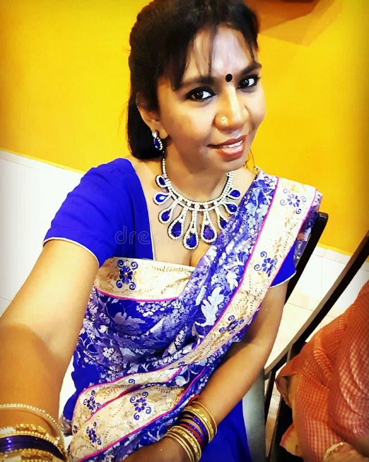härlig indier royaltyfri foto