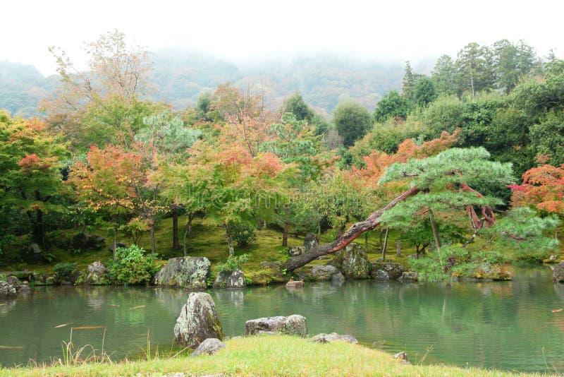 härlig japan för arashiyamahöst liggande arkivbilder