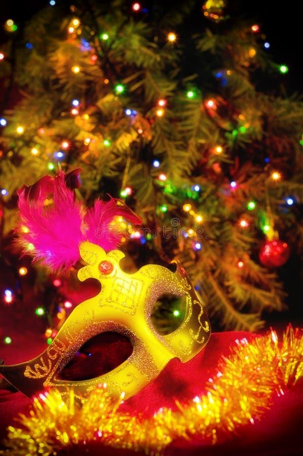 Härlig julkort arkivfoto