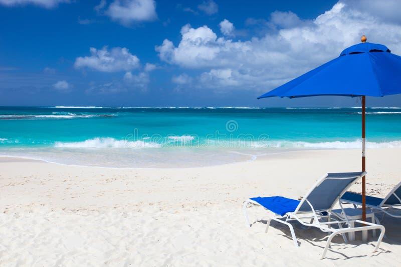 Härlig karibisk strand arkivbilder