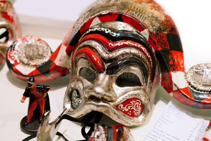 härlig karnevalmaskering arkivfoto