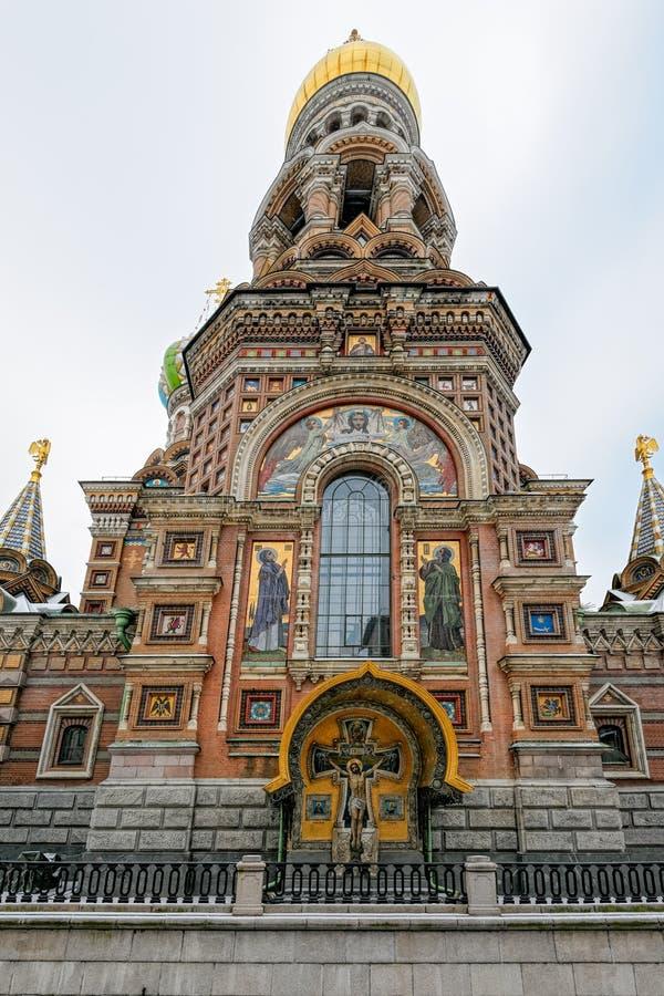 Härlig keramisk prydnad av den gamla rysskyrkan royaltyfri foto