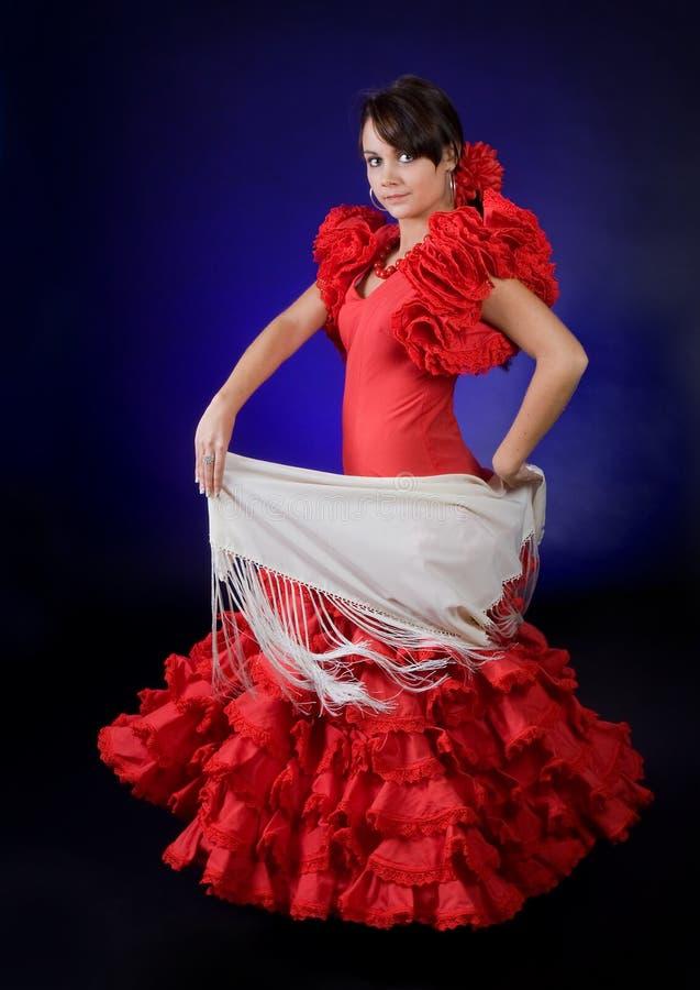 härlig klänning arkivfoto