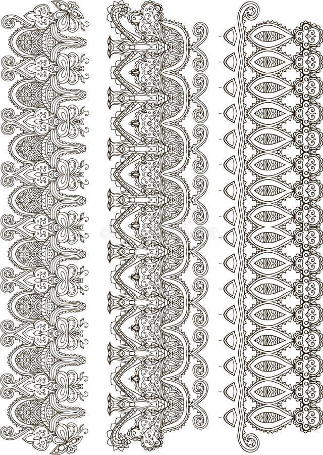 Härlig kortvektor royaltyfri illustrationer