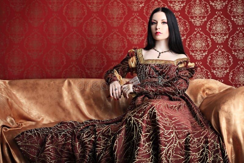 härlig kvinna royaltyfri foto
