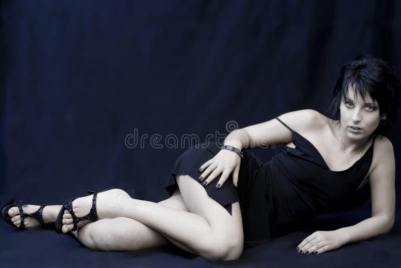 härlig kvinna arkivfoton