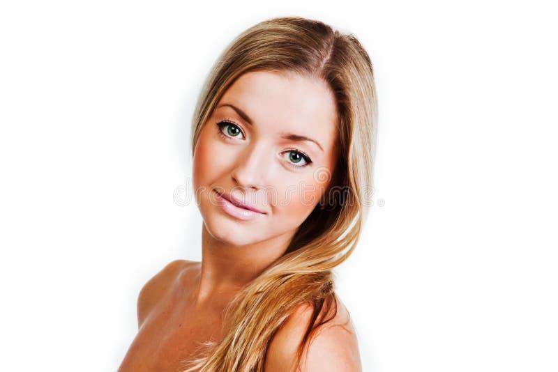Download Härlig kvinna fotografering för bildbyråer. Bild av avkoppling - 27279355