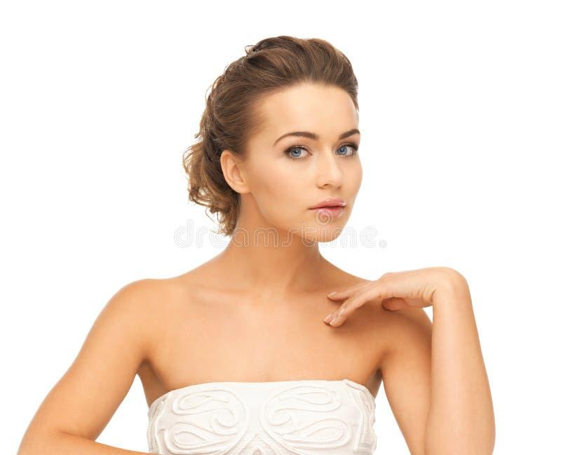 Härlig kvinna royaltyfri bild