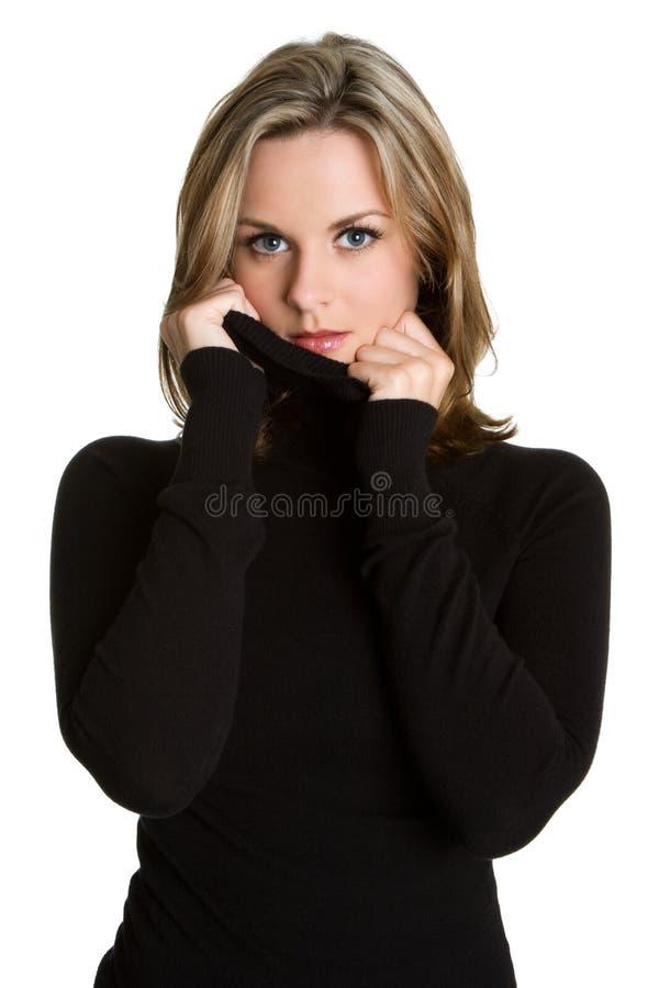 härlig kvinna arkivfoto