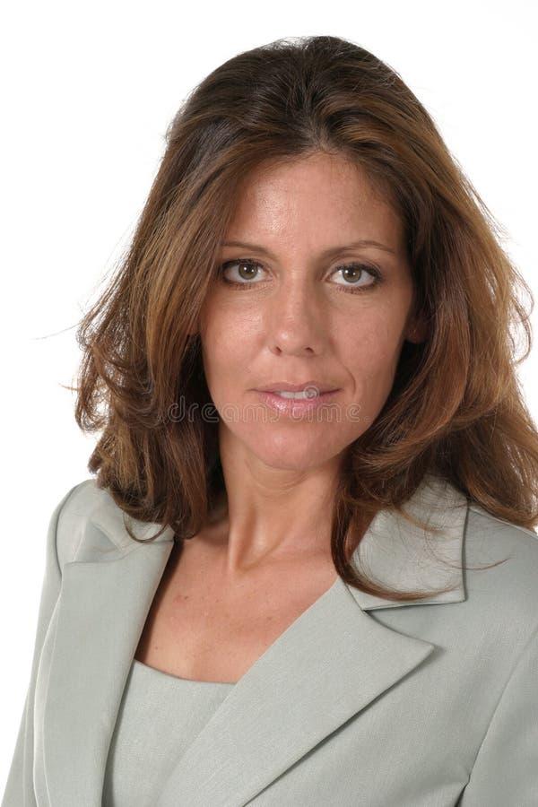 härlig kvinna för ledare för affär 6 royaltyfri fotografi