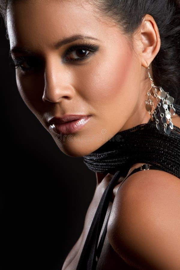 härlig latinsk kvinna royaltyfria foton