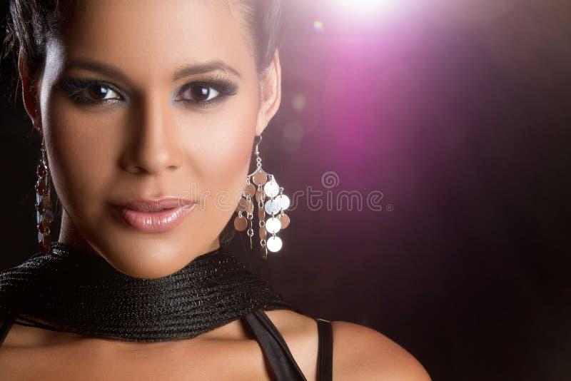 härlig latinsk kvinna royaltyfri foto