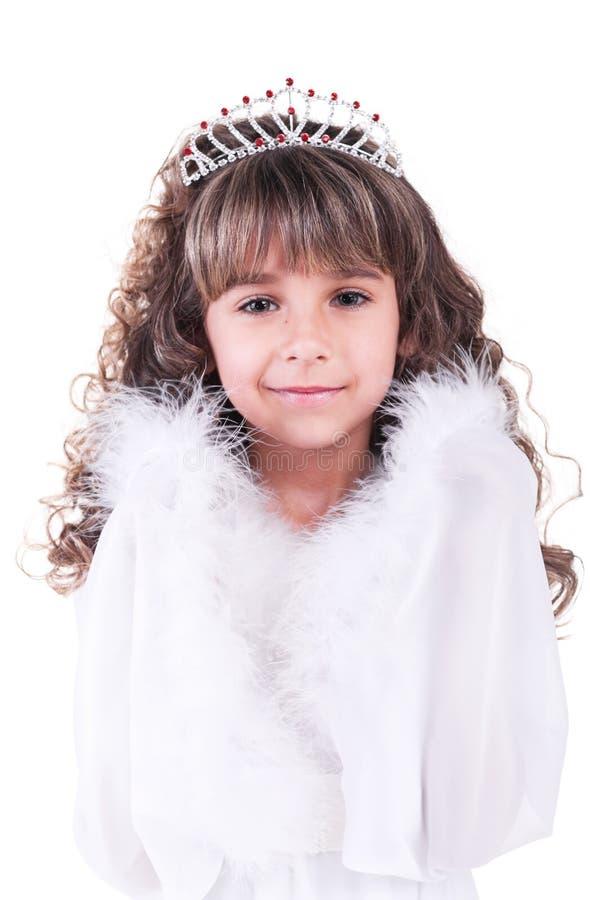 härlig liten princess arkivfoton