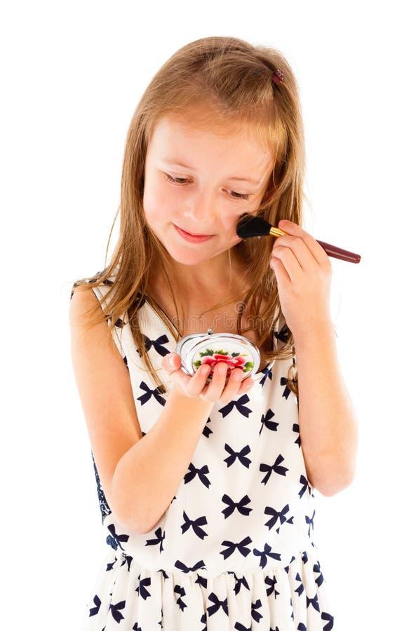 härlig liten princess fotografering för bildbyråer