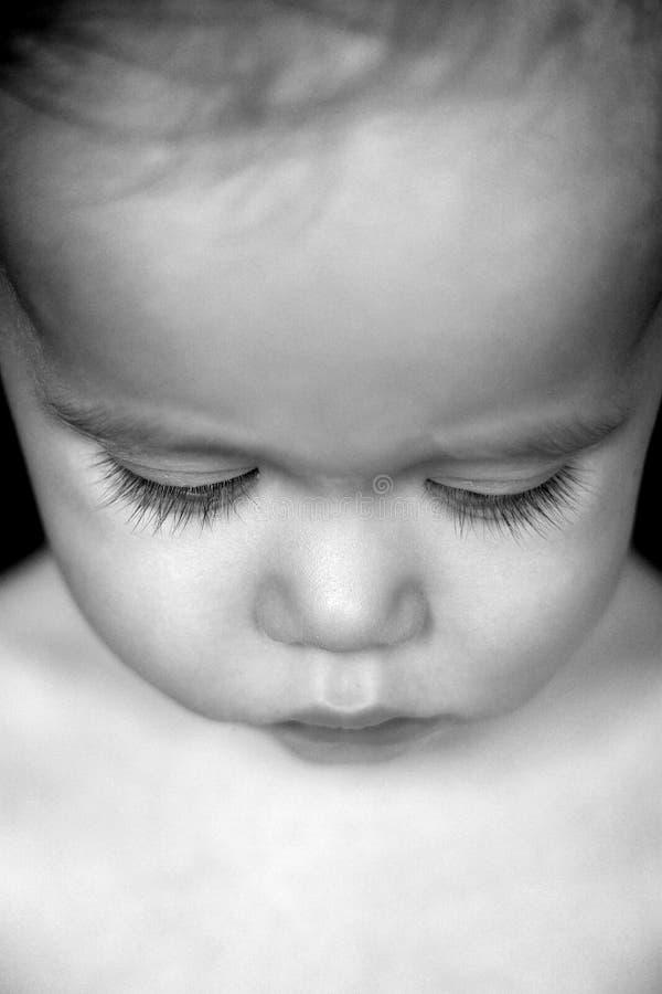 härlig litet barn royaltyfri fotografi