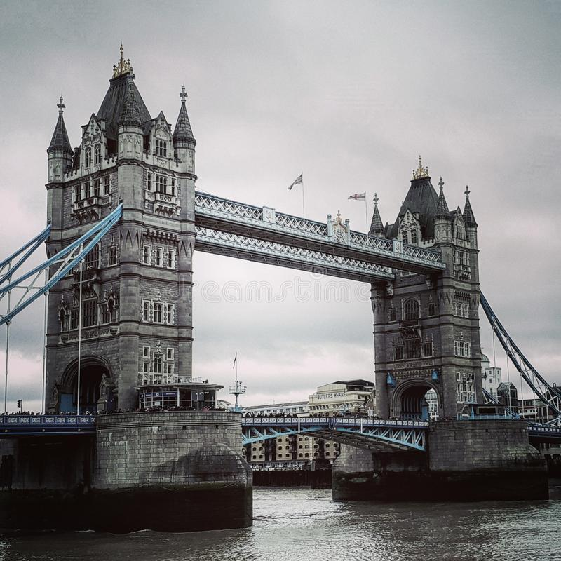 Härlig London för tornbro bro royaltyfri foto