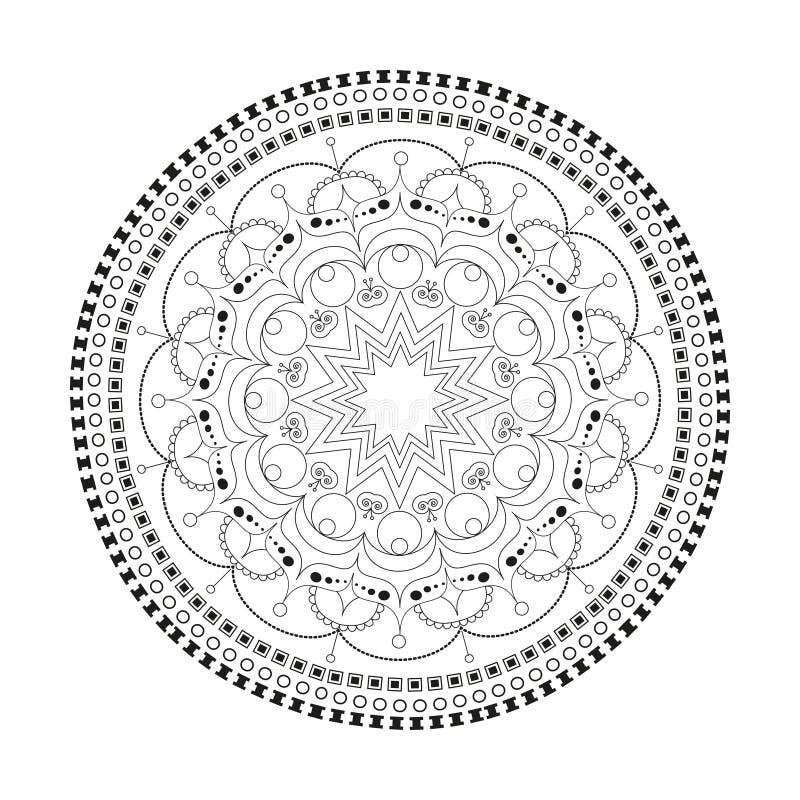 Härlig Mandala royaltyfria bilder