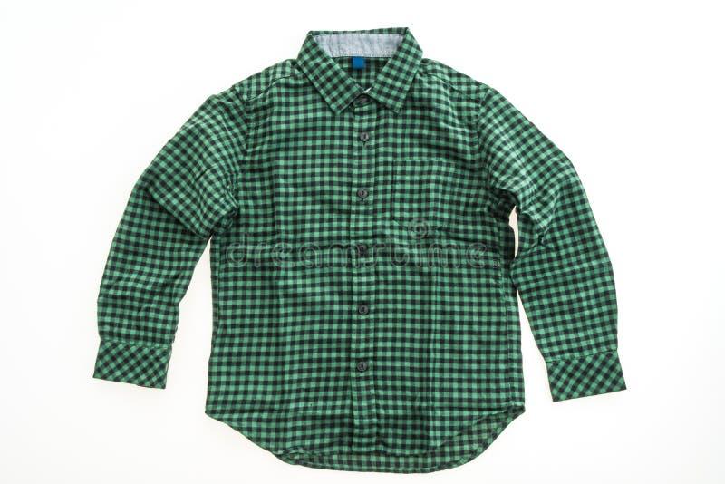 Härlig manmodeskjorta royaltyfri fotografi
