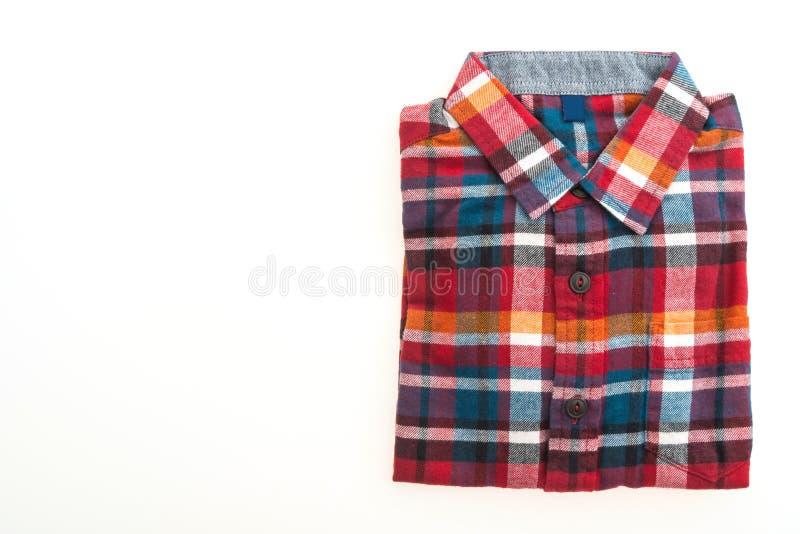 Härlig manmodeskjorta arkivfoto