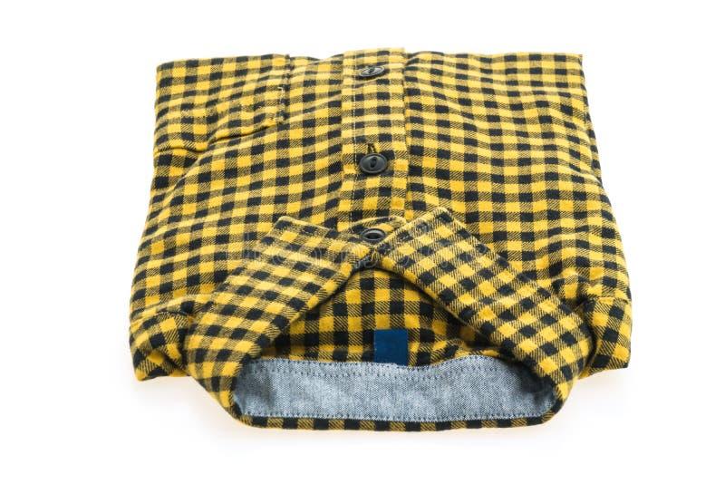 Härlig manmodeskjorta arkivfoton