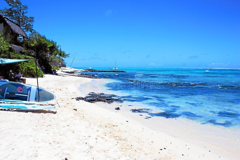 Härlig Mauritius ö royaltyfri foto