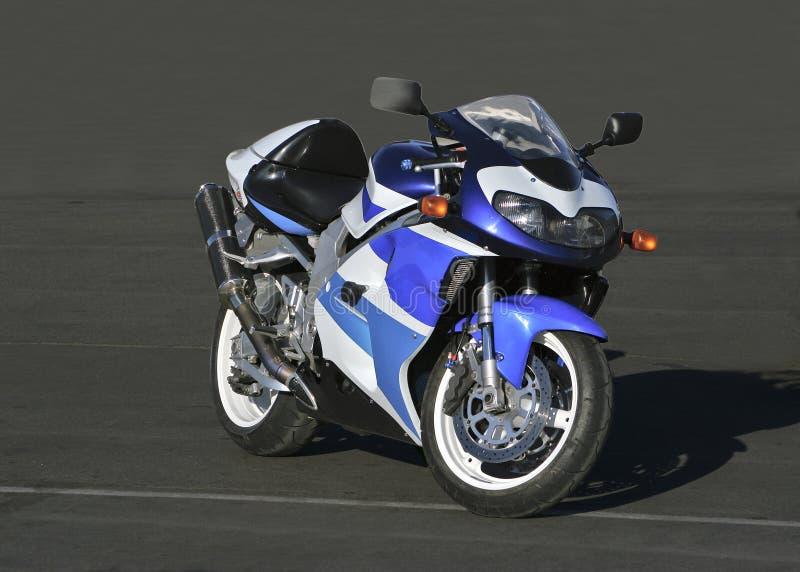 härlig motorcykel arkivfoton