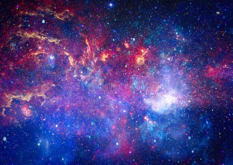 Härlig nebulosa, stjärnor och galaxer Beståndsdelar av denna avbildar möblerat av NASA arkivfoton