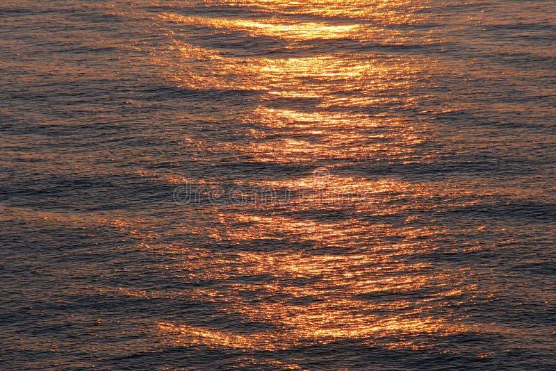 Havssoluppgång Royaltyfria Foton