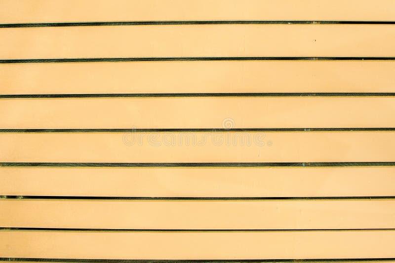 Härlig orange wood väggbakgrund royaltyfri fotografi