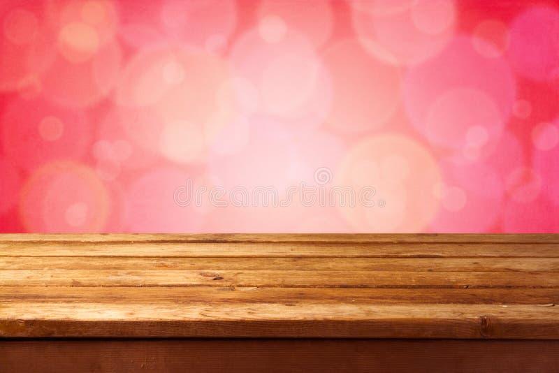 Download Härlig rosa bokehbakgrund arkivfoto. Bild av tabell, linje - 27275268
