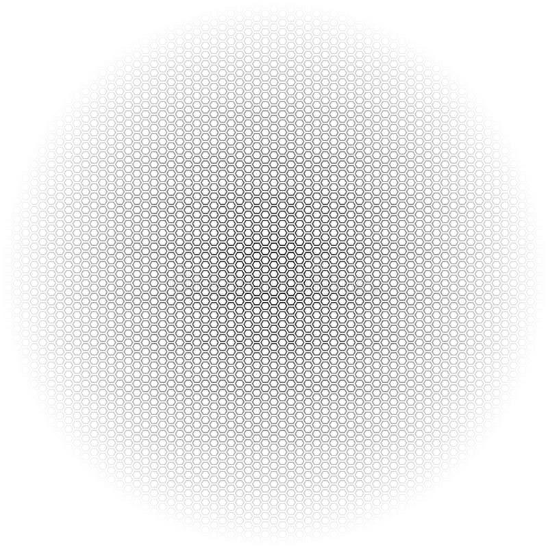 Härlig sömlös sexhörningsmodell Kan användas för wallpaper, mönstrar påfyllningar, rengöringsduksidabakgrund, ytbehandlar texture royaltyfri illustrationer