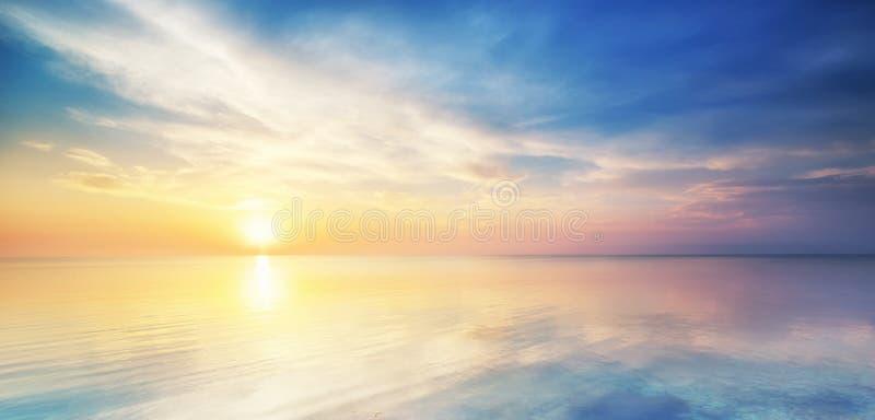 Härlig seascape. royaltyfri foto