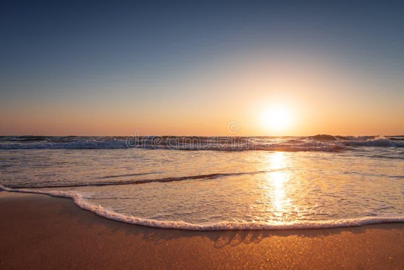 Härlig Seascape Sammansättning av naturen royaltyfri fotografi