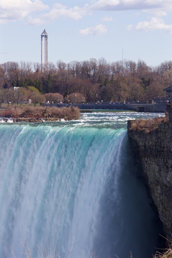 Härlig sikt av Niagaraen royaltyfri bild
