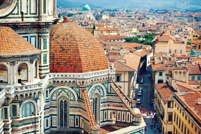 Härlig sikt till Florence royaltyfri foto