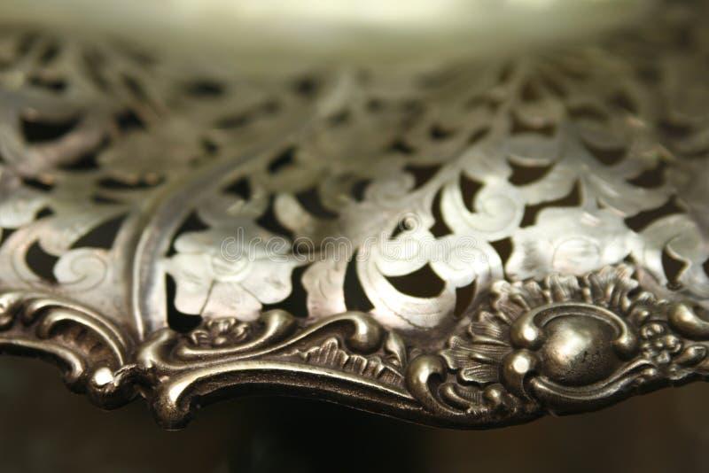 härlig silver för handfat royaltyfri foto