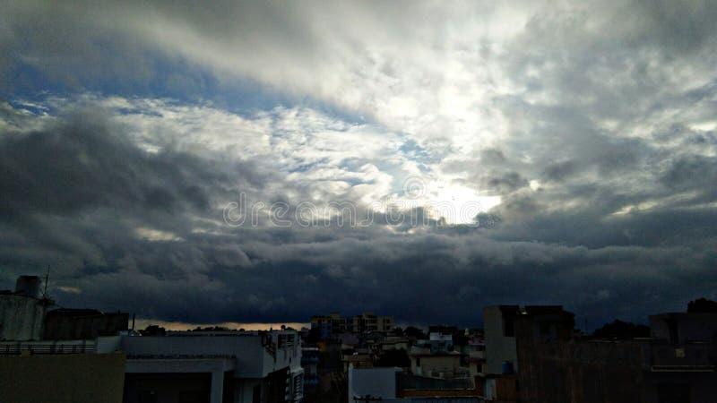 Härlig sky fotografering för bildbyråer