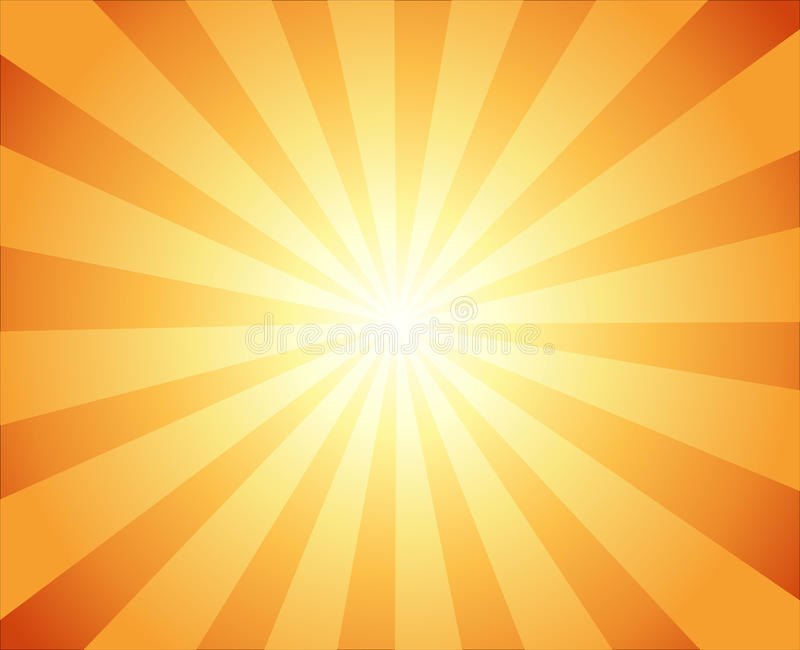 Härlig sol med bakgrund för stråltelevisiontappning royaltyfri illustrationer