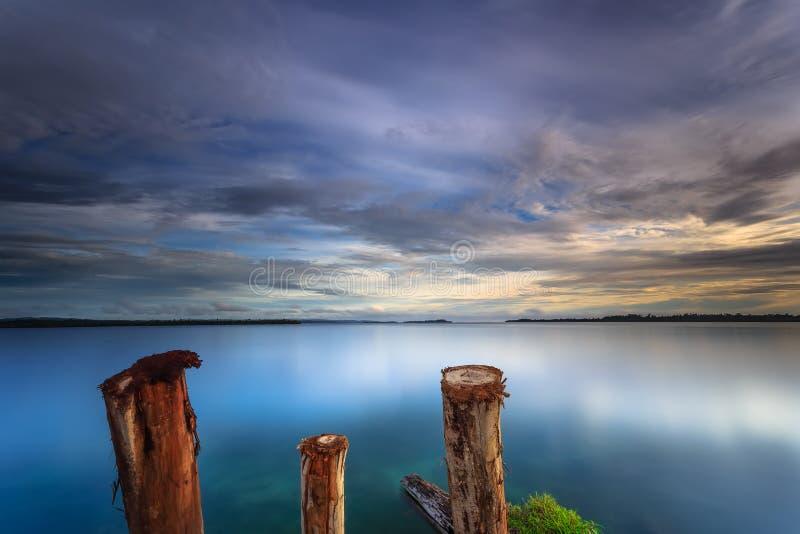 Download Härlig solnedgång fotografering för bildbyråer. Bild av härlig - 78727493