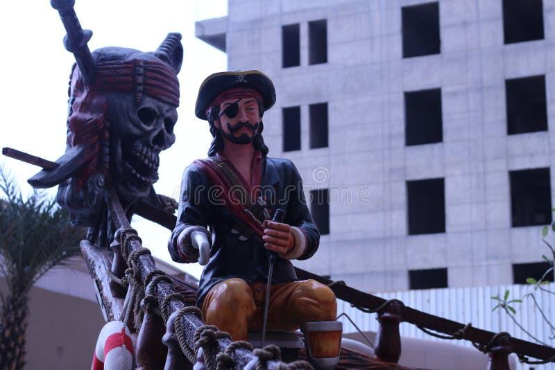 Härlig staty i Indien arkivfoto