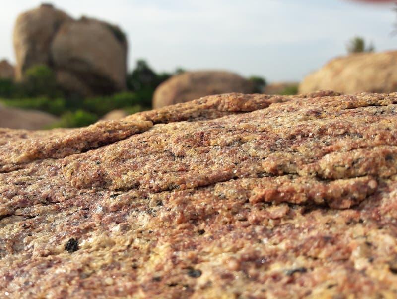 Härlig sten i Sri Lanka arkivbilder
