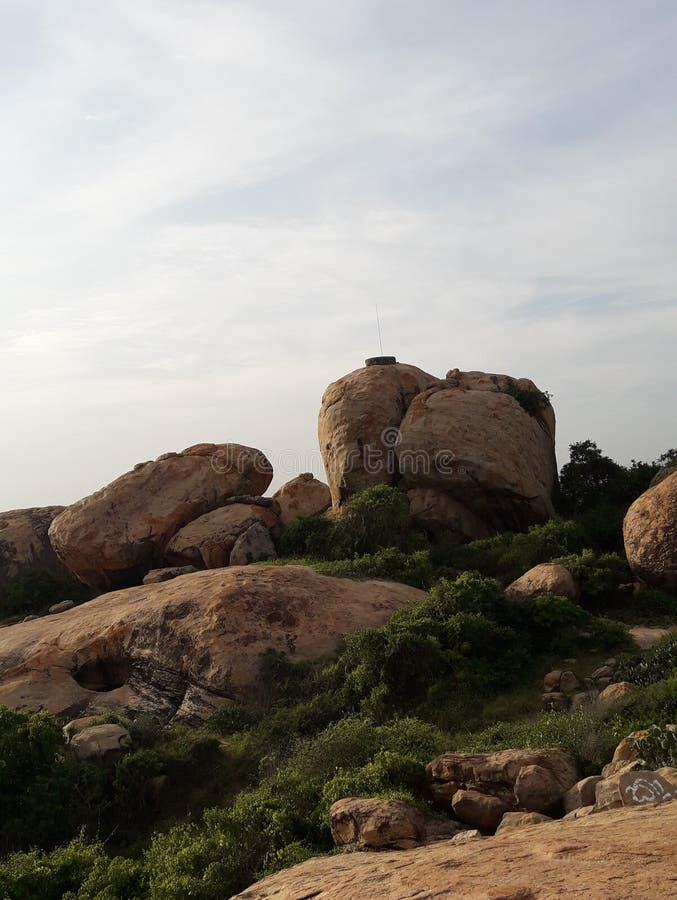 Härlig sten i Sri Lanka royaltyfri bild