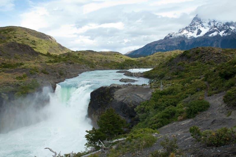 Download Härlig Stor Saltosiktsvattenfall Arkivfoto - Bild av destination, patagonia: 19783302