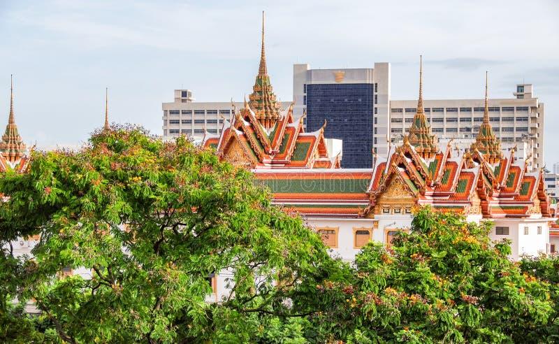 Härlig tempel av Bangkok, Thailand arkivbilder