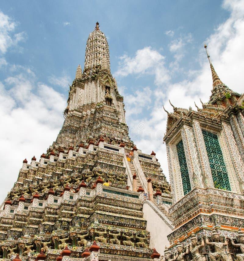 Härlig tempel av Bangkok, Thailand royaltyfri fotografi