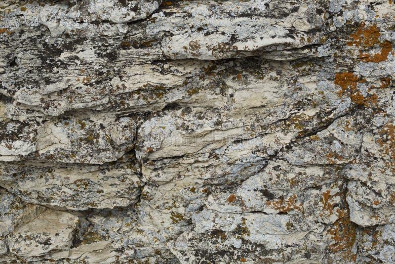 Härlig textur av en bergsten royaltyfria foton