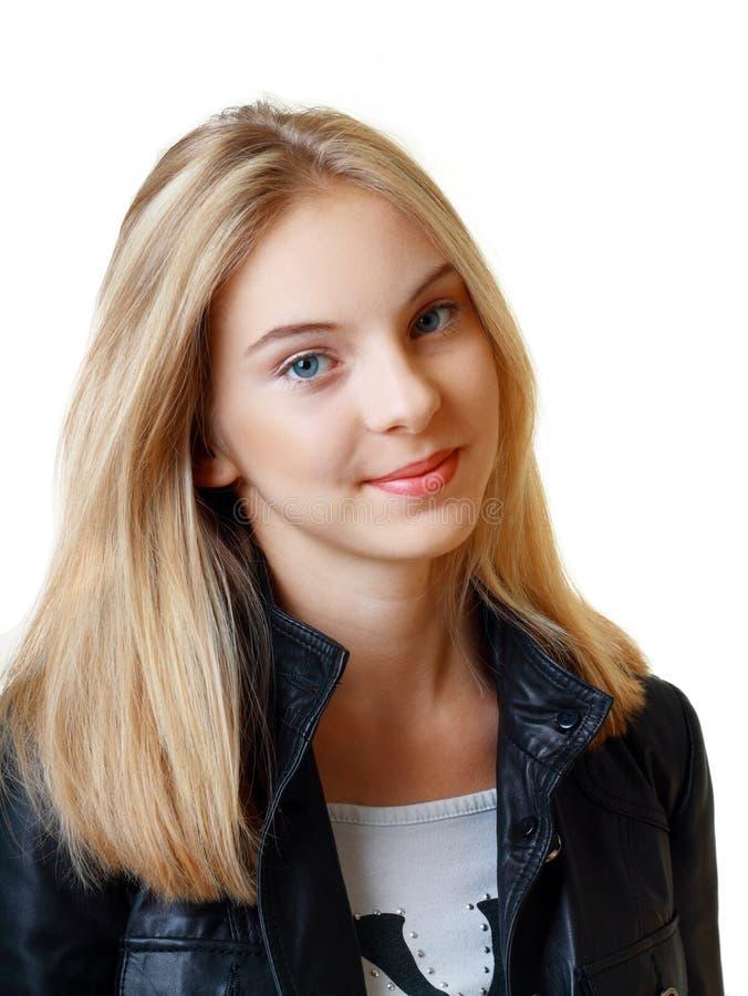 Härlig tonårs- flicka royaltyfria foton