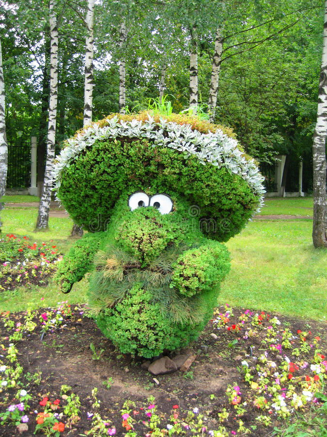 härlig trädgårds- park royaltyfria bilder